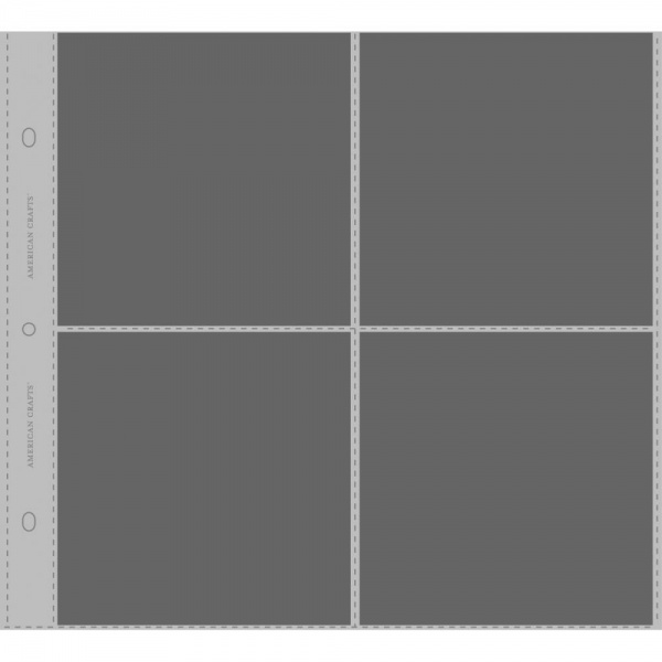American crafts page protectors 76737 12x12 kreativ for American crafts page protectors 8x8